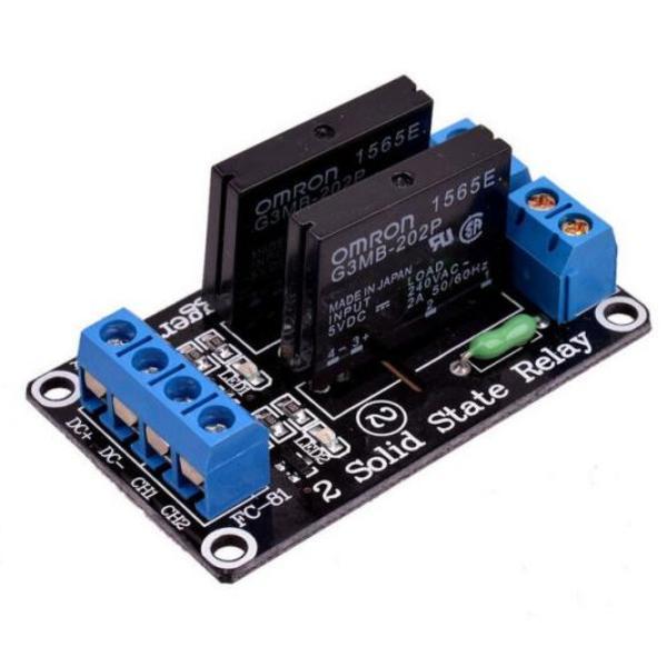 твердотельное реле 2 канала для Arduino