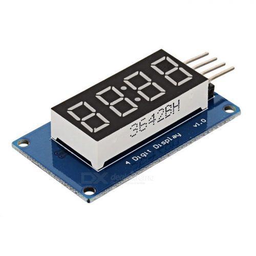 4-знаковый LED индикатор