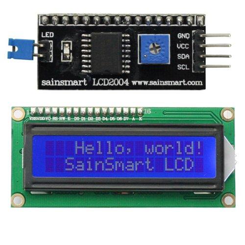 дисплей LCD 2x16 i2c