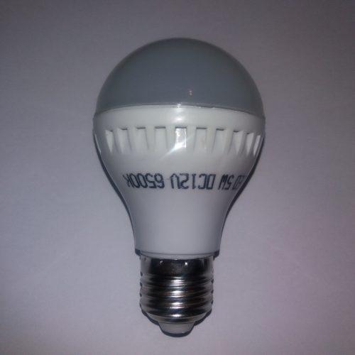 светодиодная лампа_12в_Е27_5вт