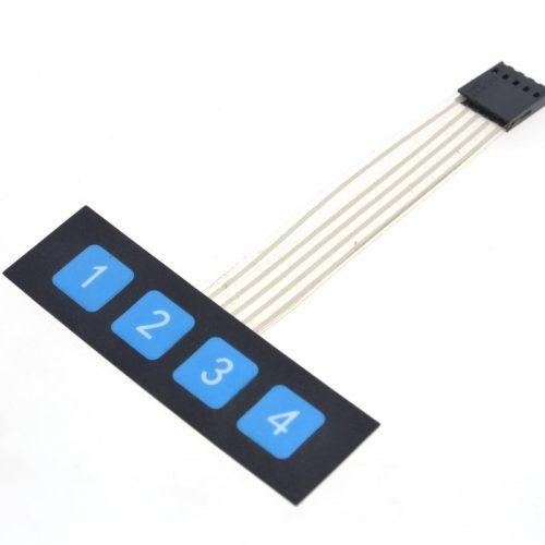 мембранная клавиатура 4 кнопки arduino