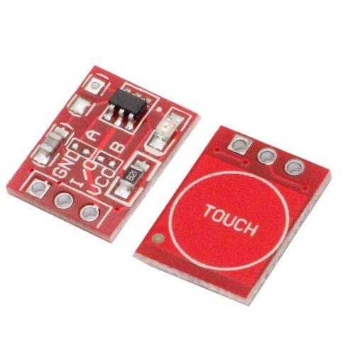 кнопка сенсорная 1 канальная ttp223